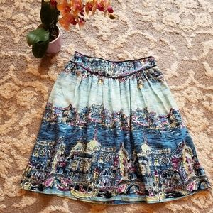 52 Conversations by Anthropologie Venice Skirt 0